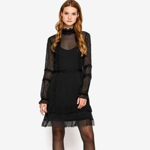 NWT -Silvian Heach Black dress